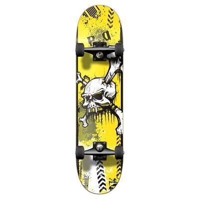Yocaher Graphic Yskull Complete Skateboard