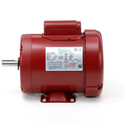 12 Hp 1725 Rpm 56 Frame 115230v Leeson Electric Motor Newfree Shipping