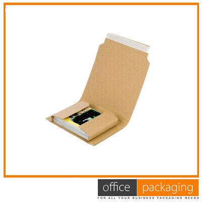 Book Wrap Mailer Postal Cardboard Boxes Lightweight Size 2 250x205x70mm 400 Pcs