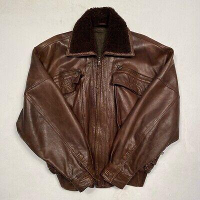 gianni versace Leather Jacket Rare Vintage