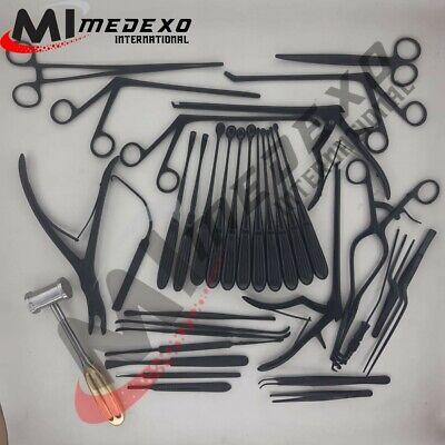Laminectomy Set 35 Pcs Black Coated Surgical Orthopedic Surgical Instruments