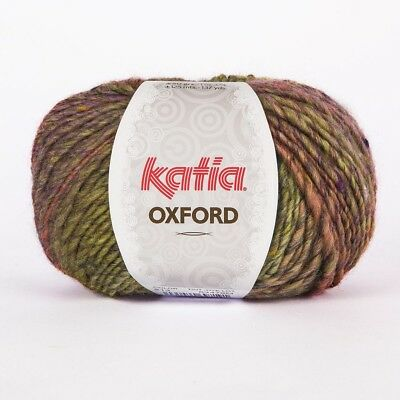 Oxford Lila (OXFORD von Katia - VERDE/LILA/SALMÓN (213) - 50 g / ca. 125 m Wolle)