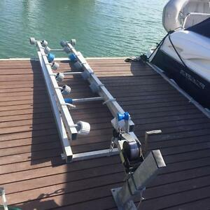 Jet Ski Pontoon Roller Storage System Dock Cleveland Redland Area Preview