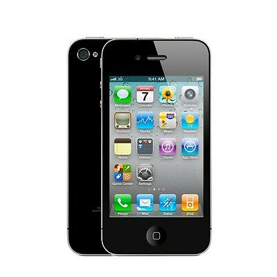 NEW Apple iPhone 4 - 8GB - FACTORY UNLOCKED GSM Smartphone - Black or White!