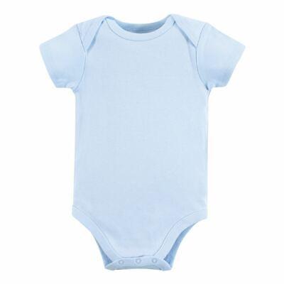 Luvable Friends Boy Bodysuits, 1-Pack, Blue