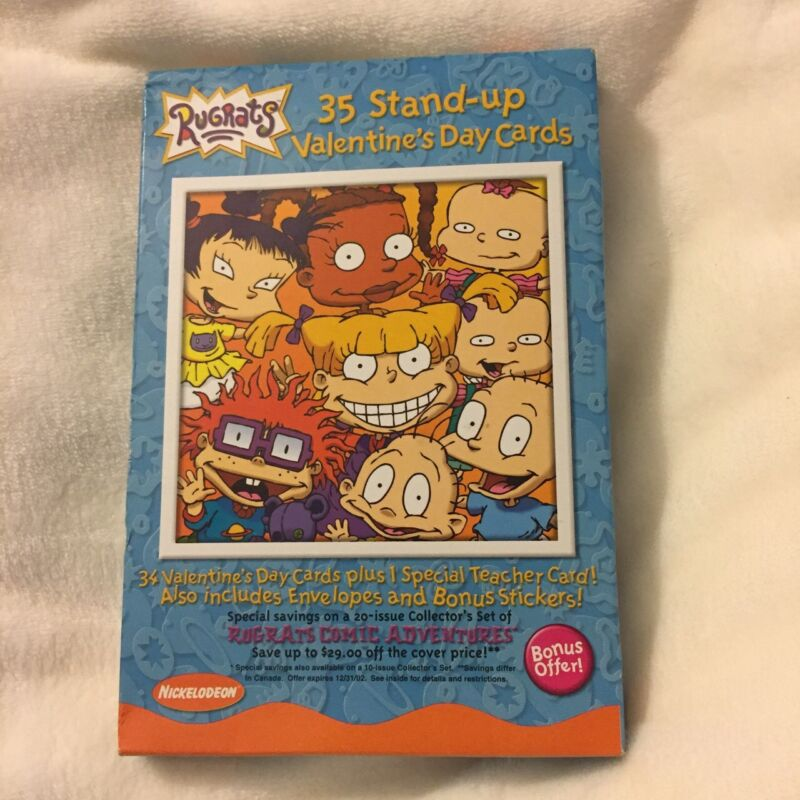 2000s Rugrats Valentine's Day Cards Brand New