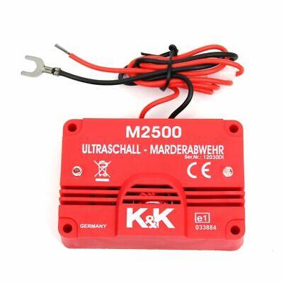 KK Marderschutz Marderabwehr M2500 Ultraschallgerät 23 kHz 105 dB(A)