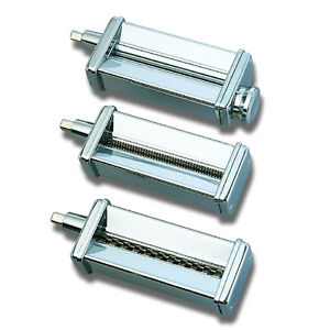 Kitchenaid-Kpra-Pasta-Roller-Cutter-Maker-3pc-Stand-Mixer-attachment-set-New