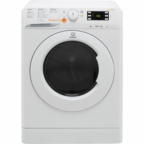 Indesit XWDE861480XWUK Free Standing 8Kg A Washer Dryer White New from AO