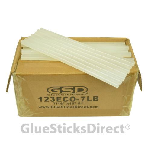 "GlueSticksDirect Economy® Hot Melt Glue Sticks 7/16"" X 10"" 7 lbs bulk"