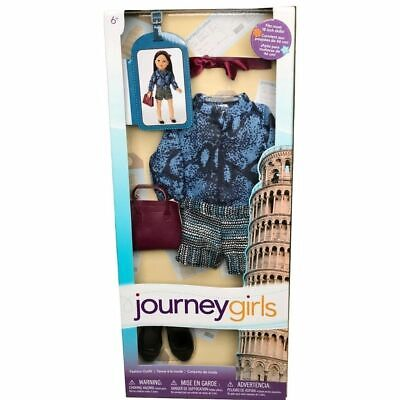 """NEW Journey Girls Doll Toys 'R Us Complete Outfit Fashion Accessories Set 18"""""""