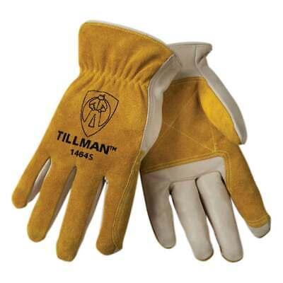 Tillman 1464 Top Grain Cowhidesplit Drivers Gloves Small