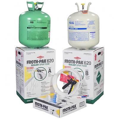 Spray Foam Insulation Kit  Dow Froth Pak 620  620Bf