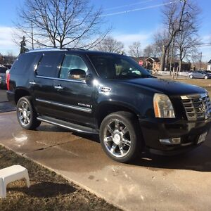 2008 CADILLAC ESCALADE SAFETIED AND ETEST