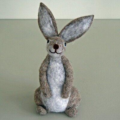 Felt Standing Hare - Best Seller!!