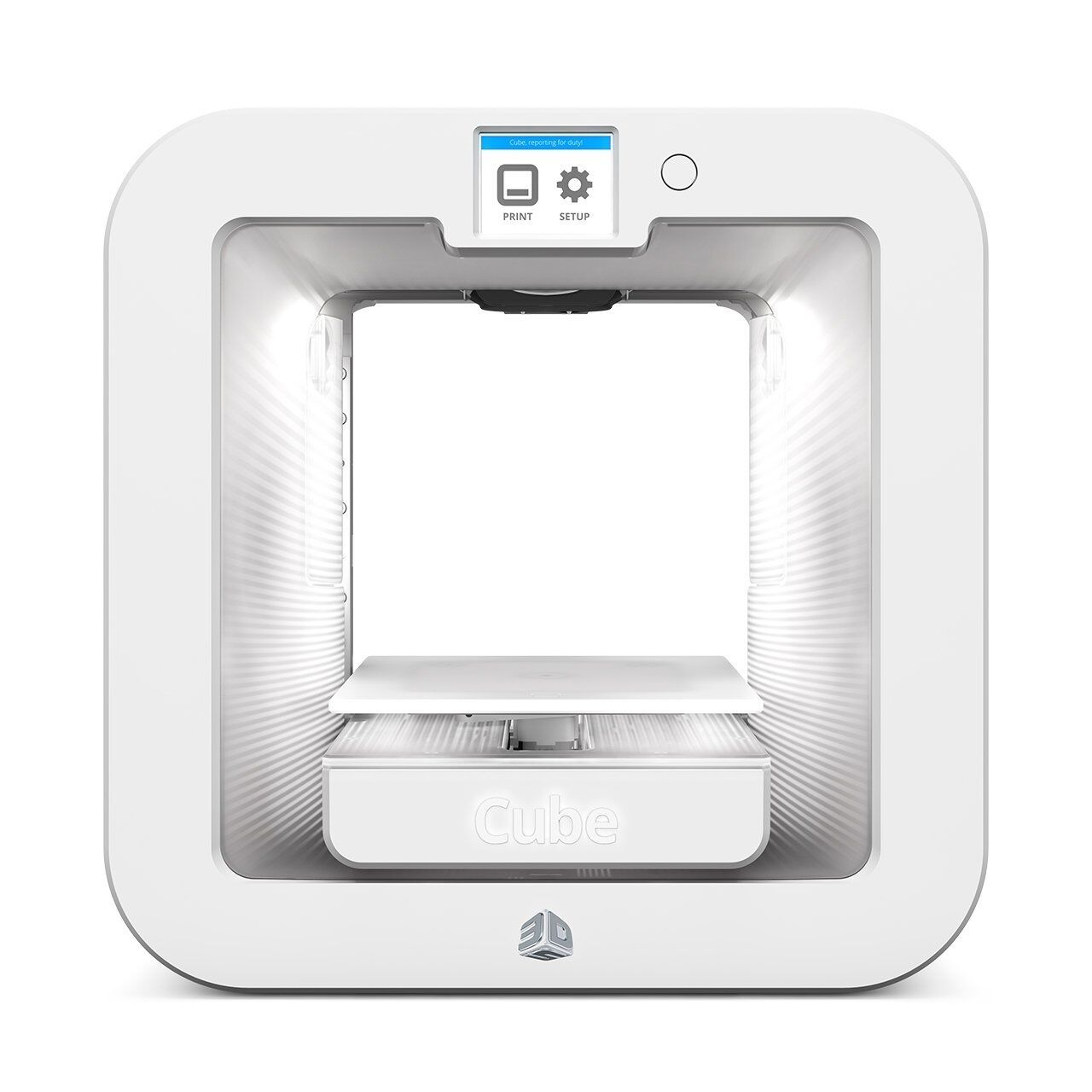 CUBE 3D Systems Wireless Printer, 3rd Generation 391100 Whit