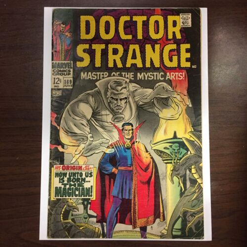 Marvel Comics DOCTOR STRANGE Master of Mystic Arts 169 Key ORIGIN 1ST SOLO 1968
