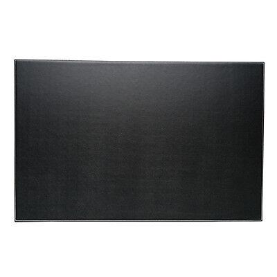 Bey-berk Desk Pad 18x28 Black Leather