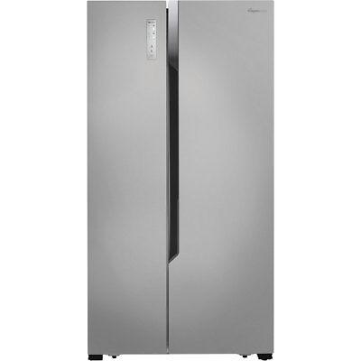 Fridgemaster MS91518FFS 91cm Frost Free American Fridge Freezer Silver