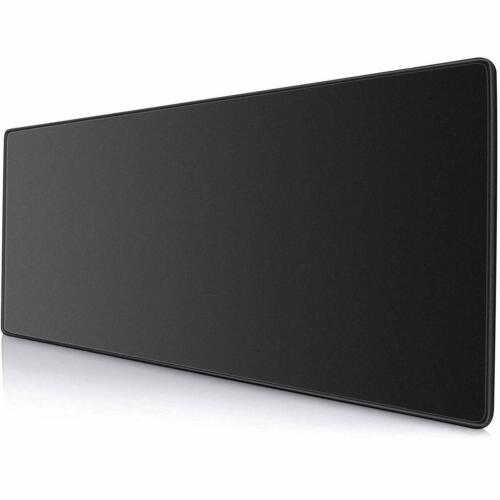 Large Extended Gaming Mouse Pad Mat, Stitched Edges Non-Slip Waterproof Mousepad