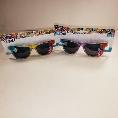 Lot of 2 pairs - My Little Pony Kids Sunglasses Rainbow Frames NEW!](My Little Pony Sunglasses)