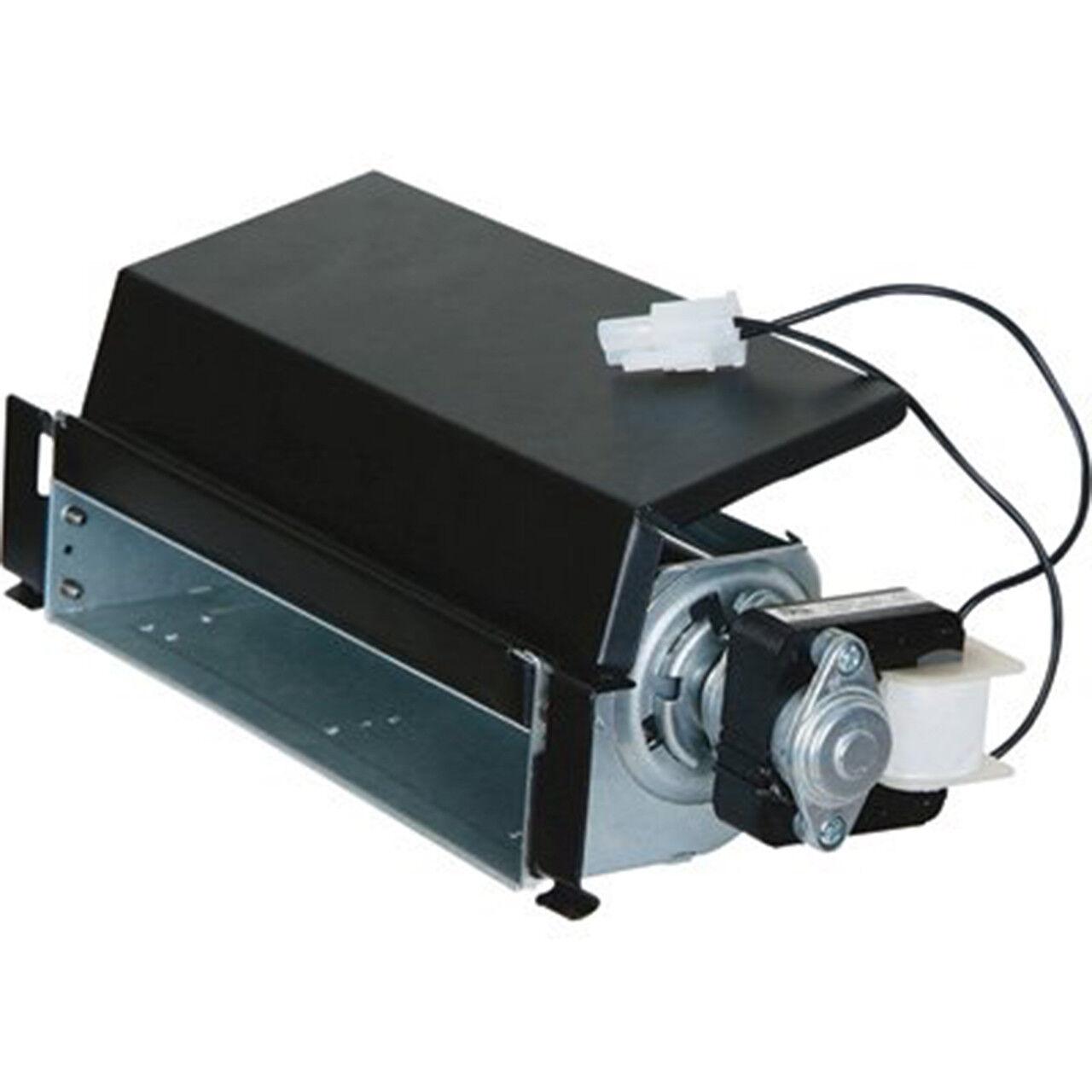 ProCom FIB100 Dual Fuel Fireplace Blower, Large, Black, Silv