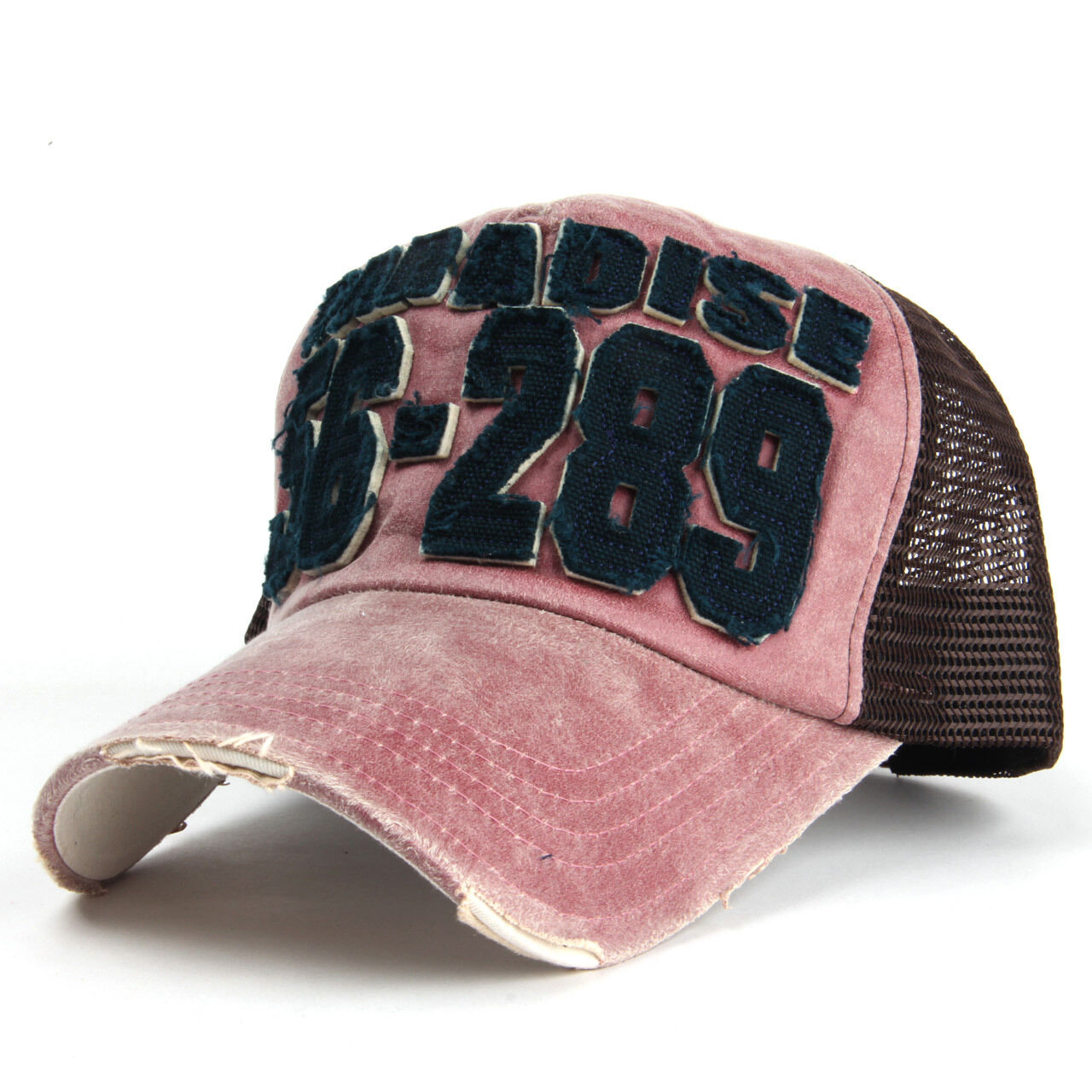 Paradais Patch Vintage Mesh Cap  Baseball Cap Trucker Hat