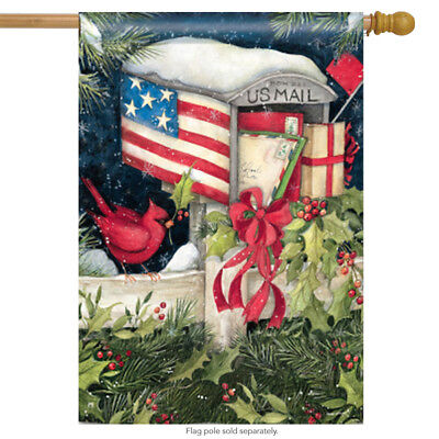 Christmas Cards House Flags Large Yard Banner by BreezeArt 2