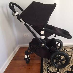 Bugaboo Cameleon 3 - Immaculate ALL BLACK 2015 Limited Edition - Waitara Hornsby Area Preview
