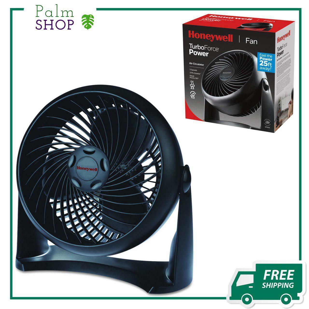 Honeywell HT-900 TurboForce Air Circulator  Fan Black Speed