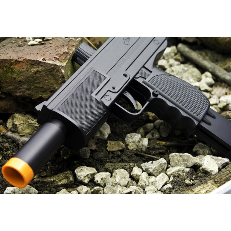 Toy Gun Airsoft Double Eagle Spring Mac 10 Pistol Uzi Mac 11 M36 Full Scale SMG