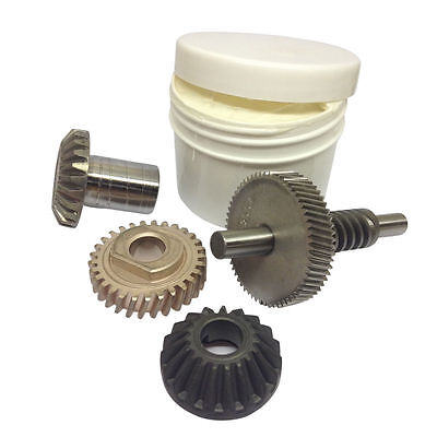 Kitchenaid Mixer 6QT Worm Gear, Follower Gear, Bevelled Gear, Hub Gear & Grease.