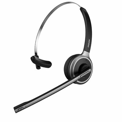 Best Trucker Bluetooth Headset For Driver Wireless Earpiece Noise Cancelling