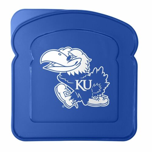 University of Kansas Jayhawks Lunch Box Sandwich Container