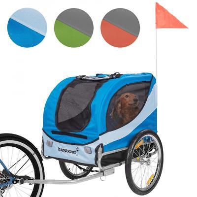 HAPPYPET® Hundeanhänger Hundetransporter Fahrradanhänger Hunde Fahrrad