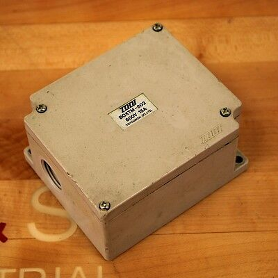 Toyogiken Co. Boxtm-802 Terminal Block Junction Box 15 Amp 600v - Used