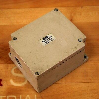 Toyogiken Co. Boxtm-802 Terminal Block Junction Box 15 Amp 600v - Used