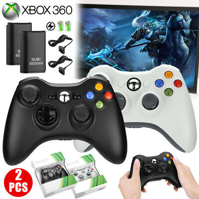 Wireless Game Controller Gamepad Joystick Pad for Microsoft Xbox 360 & PC ()
