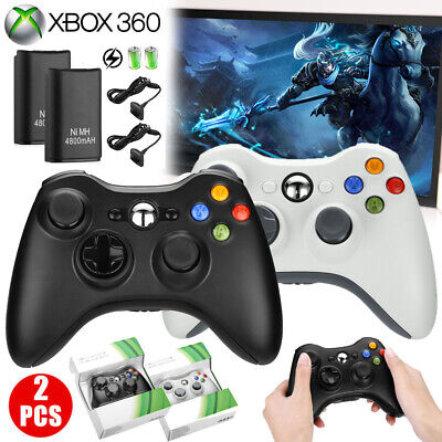 Wireless Game Controller Gamepad Joystick Pad for Microsoft Xbox 360 & PC - New Xbox Game Controller Pad