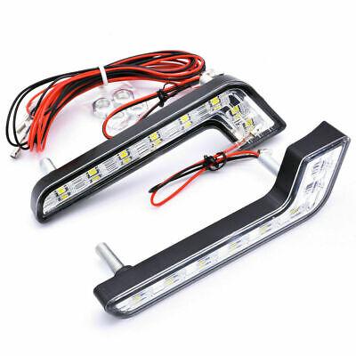2 LED Tagfahrlicht L FORM  E-Prüfzeichen Mercedes L Form Xenon Weiß Neu 6 Led
