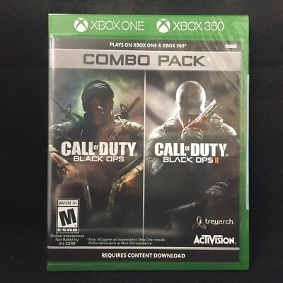 Call Of Duty  Black Ops 1   2  Play On Xbox One   Xbox 360  Brand New
