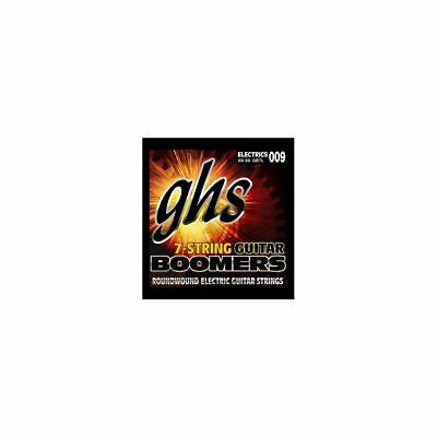 GHS Boomers -GB76-Eléctrica Guitarra String Juego, 7-String, Light 009 058