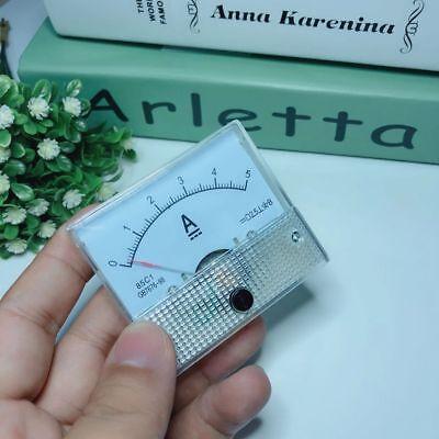 85c1 0-30v50v 0-5a10a Analog Panel Amp Current Meter Voltmeter Gauge Dc Tester