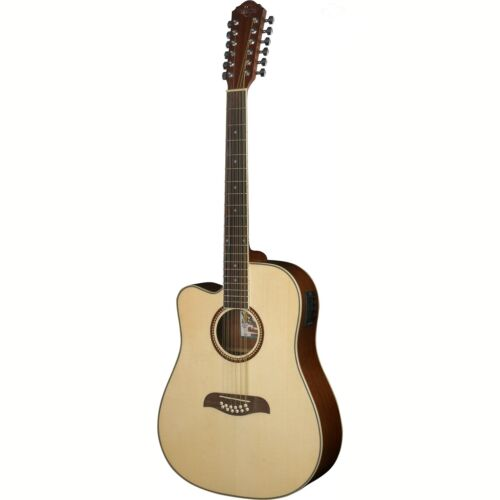 Oscar Schmidt OD312CELH Left Handed 12-String Acoustic Elect