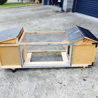 XL rabbit hutch/guinea pig cage/chicken coop Sandy Bay Hobart City Preview