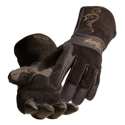 Black Stallion Angelfire Bsx Ls50 Womans Premium Pigskin Welding Gloves X-sm