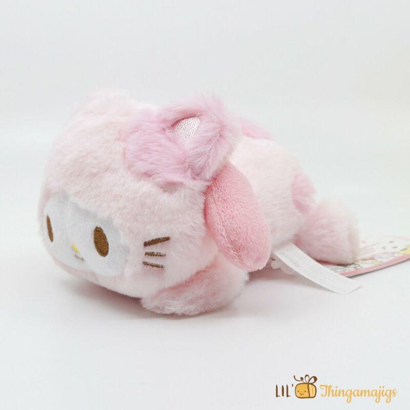 """Sanrio My Melody Kitty Costume Plush 6"""" (Sanrio Japan Original)"""
