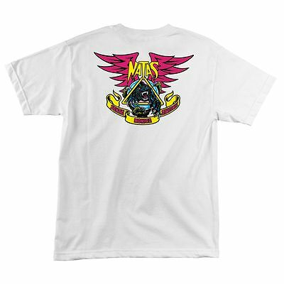 Vintage 90 Santa Monica Airlines Santa Cruz Thiebaud Girrafe Skateboard T-Shirt ikufKl