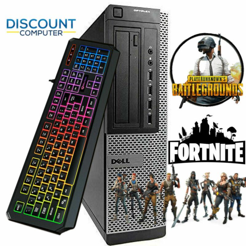 Dell I5 Gaming Computer Pc 16gb 256gb Ssd Wifi Win 10 Nvidia Gt1030 Hdmi
