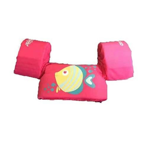 Stearns Puddle Jumper Childrens Life Jacket Pink Fish 300000